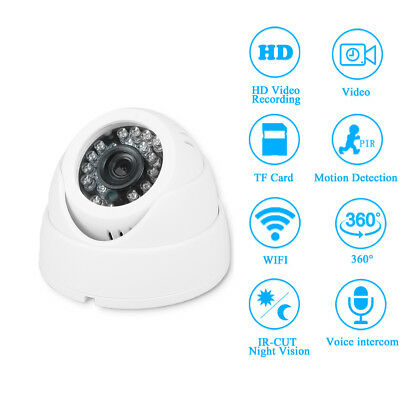 MINI Telecamera Videosorveglianza IP HD 720P Wireless Esterno WI-FI LED IR WIFI