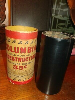 A singer sang a song -Eddie Morton Columbia Indestructible cylinder RECORD