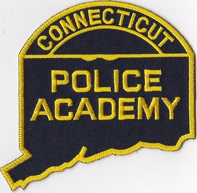 Connecticut Police Academy  Connecticut CT Police Patch