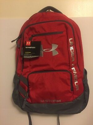 05d88a6c09c New Under Armour UA Storm Hustle II Red Tactical Backpack (1263964-600)