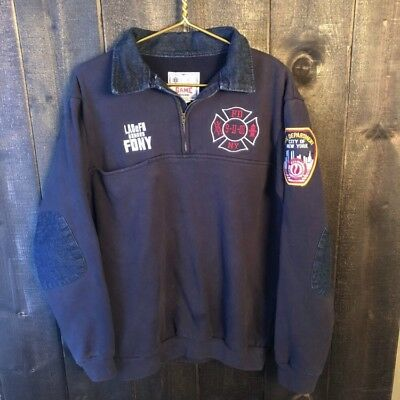 Game Workwear LOS ANGELES FIRE DEPT HONORS NEW YORK CITY FIRE DEPT 9/11 Shirt