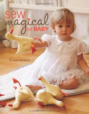 Sew Magical for Baby Sewing Patterns Nursing Cover Book Toys Bib Mobile Blanket