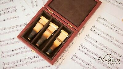 3 Armenian Duduk Reeds with 1 Hard Case | Made by Vamelo Ltd