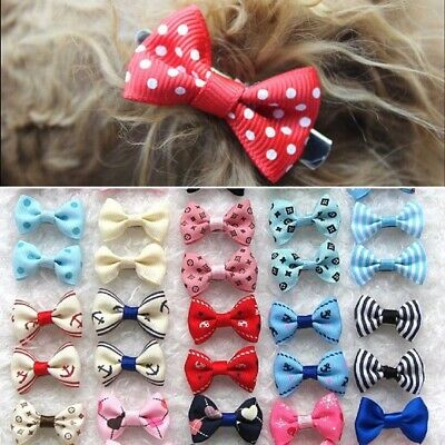 21Pcs/Set Pet Bow Show Barrette Dog Hair Clip For Puppy Cat Grooming Accessories