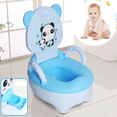 Baby Toddler Potty Training Toilet Seat Kid Fun Toilet Trainer Panda Figure