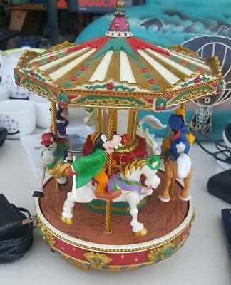 Disney Carousel Merry Go Round Mickey and Friends