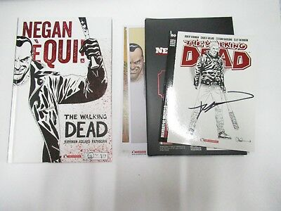The Walking Dead Robert Kirkman Signing Pack Firmato Autor Limited Lucca Gadget