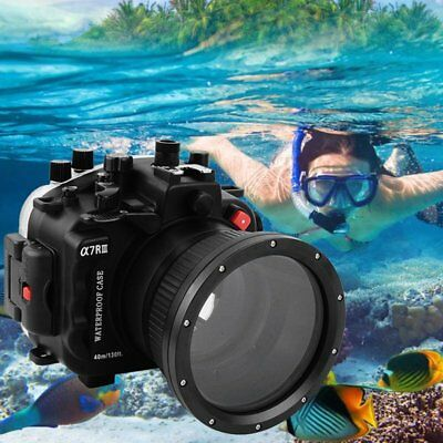 SeaFrogs 40m Waterproof Underwater Camera Housing Case For Sony A7RIII A7R3