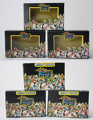 1X Very Rare Vintage 80's Greek Battle Beasts Box El Greco New Old Stock !