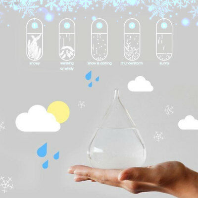 Tempo Storm Glass Drop Weather Forecast Water mit Basis kleine bunte Xmas gift