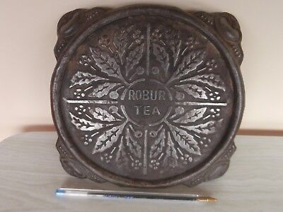 Vintage Collectable ''robur Tea'' Tin / Metal Tea Pot Stand