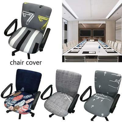 Spandex Computer Chair Cover Elastic Fabric Office Chair Seat Cover Removeable