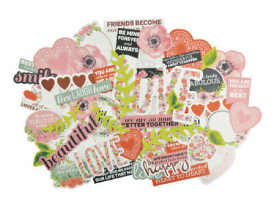 *A&B* KAISERCRAFT Scrapbooking Collectables True Love CT847 LIMITED STOCK