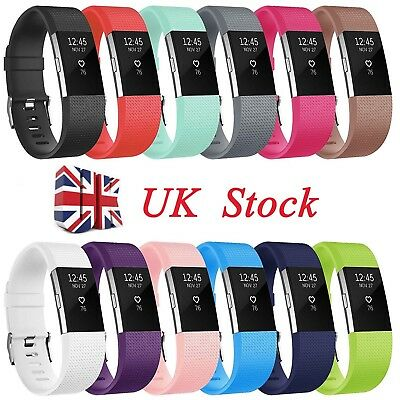 Fitbit Charge 2 Wrist Straps Wristbands Replacement Accessory Watch Bands UK