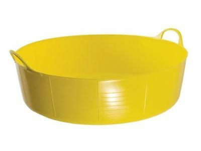 Red Gorilla TUB35 Gorilla Tub® Shallow 35 Litre - Yellow