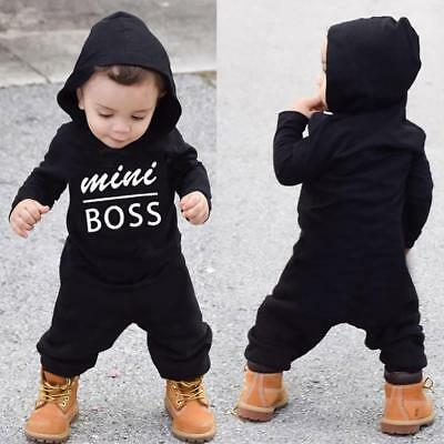 Newborn Infant Baby Boy Kid King Romper Jumpsuit Bodysuit Clothes Outfits