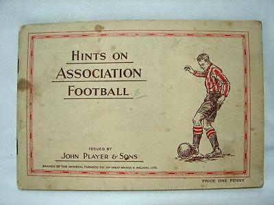 1930s John Player and Sons Cigarette Card Album COMPLETE Assoc Football hints