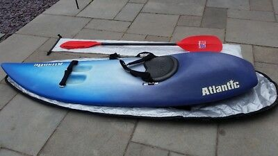 ATLANTIC WAVESKI, SURFSKI in very good condition, with bag and paddle