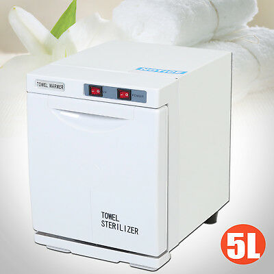 5L UV Towel Warmer Sterilizer Cabinet Facial Salon Heater Beauty Hair Restaurant