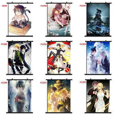 "Anime Noragami manga Wall Scroll Poster cosplay8""x11"" A"
