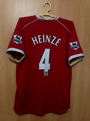 7ebcdc48bcf Manchester United 2006 2007 Home Football Shirt Jersey Gabriel Heinze  4
