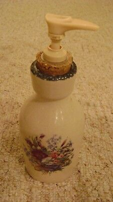 Home & Garden Party Floral  SOAP PUMP DISPENSER BATHROOM ACCESSORY
