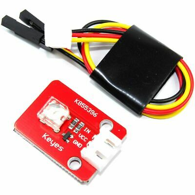 Keyes 8mm Blue LED Module KY-063 Arduino Raspberry Dupont 20cm Flux Workshop