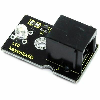Keyestudio EASY-plug 5mm White Straw Hat LED Module KY-101 Arduino Flux Workshop