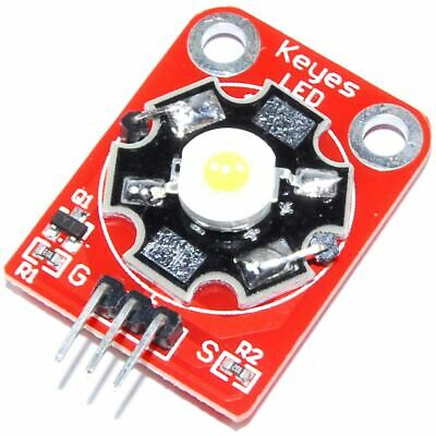 3W White LED Module Arduino Raspberry Pi Genuine Keyes Flux Workshop