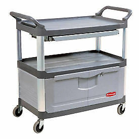 RUBBERMAID Xtra™ Instrument Cabinet Cart & Sliding Shelf, Lot of 1
