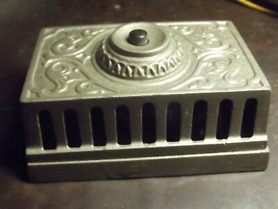 """Antique Ornate Eastlake Door Bell & Box  w/ """"electronics"""" for Annunciator"""