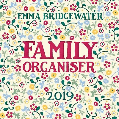 Emma Bridgewater Family Planner 2019 Family Week To View Five Column Planner