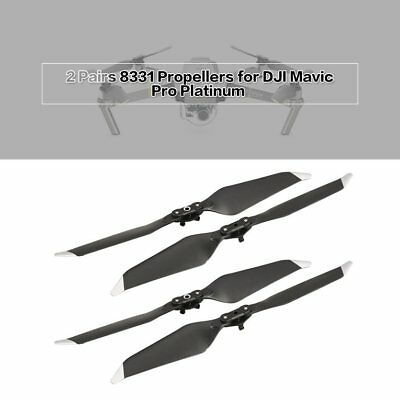 2 Pairs 8331 Low-Noise Quick-Release Propellers for DJI Mavic Pro Platinum TP1