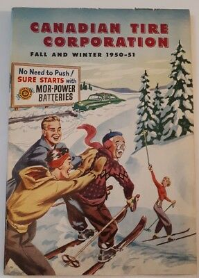 """Rare Canadian """"canadian Tire Corp. 1950 - 51 Fall And Winter"""" Catalogue - Nice"""