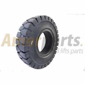 Forklift Tyre 8.25-15/6.5 Solid Non Marking Universal WRST for Non-stop usage!