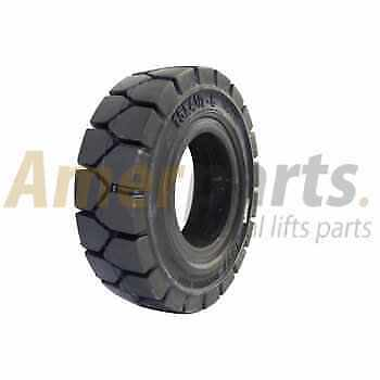 Forklift Tyre 15x4 1/2-8/3.00 Solid Tyre Non Marking Universal Non-stop usage!