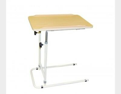 =  Cefndy Utility Overbed Chair Table Aid Adjustable Height Steel Portable  7:1