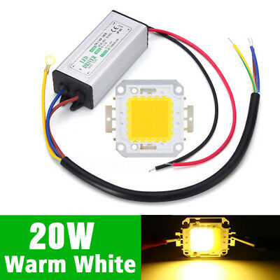 LED LED Current Warm White Constant Driver + CHIP IP65 20W 20W Transformer