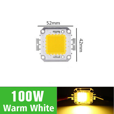 1Pcs Beads NEW Floodlights Chip Lamp LED 100W Warm White for SMD Bulbs Light