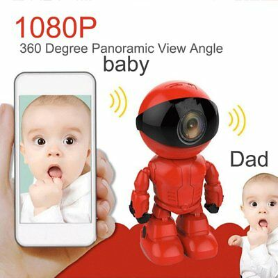 2.0MP 1080P Wifi Wireless Robot Camera IP Camera for Baby Security Monitor TP1