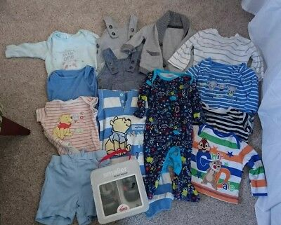 Baby Boy's 0-3 Months Clothes Bundle - Includes Some Disney, Winnie The Pooh,...