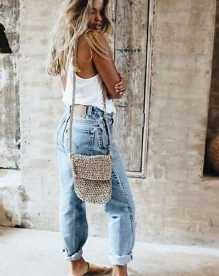 VTG LEVI'S 550 Tapered Distressed Mom Jeans High Rise Waist Boyfriend Fit Size 9