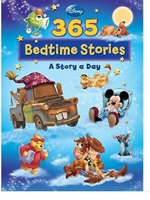 Disney 365 Bedtime Stories Collection For Children Kids A Story a Day Book NEW