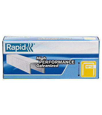 Staples rapid 17 - 8mm leg length - Silver