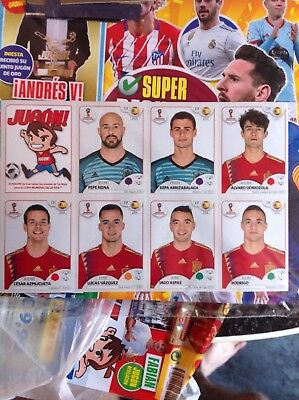 Extra Spain panini  World Cup Russia 2018