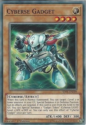 Yu-Gi-Oh: CYBERSE GADGET - SDPL-EN009 - Common Card - 1st Edition