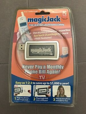 MagicJack - Original, As Seen on TV - BRAND NEW and SEALED