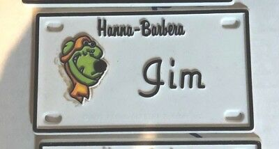 Muttley (Scooby-Doo) Name Plates or Door Signs circa 1972 Jim