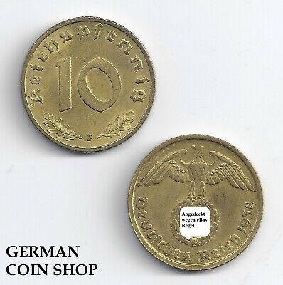 10 Reichspfennig 1936 - 1939 a B D E F G J - Please Select - Third Reich