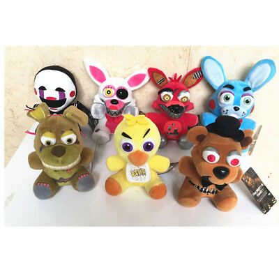 NEW Five Nights at Freddy's FNAF Horror Game Plush Dolls Kids Plushie Toy 6-7""
